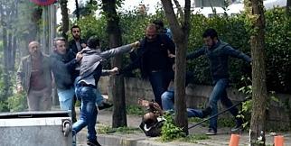 1 Mayıs eylemcilerine meydan dayağı