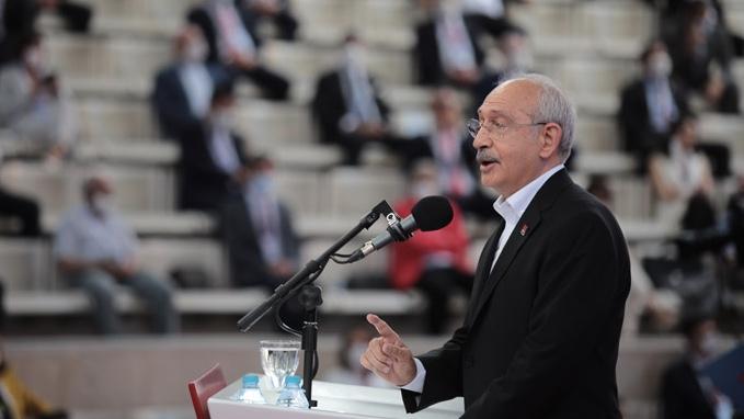 CHP'de kurultay: Kemal Kılıçdaroğlu 6. kez Genel Başkan seçildi