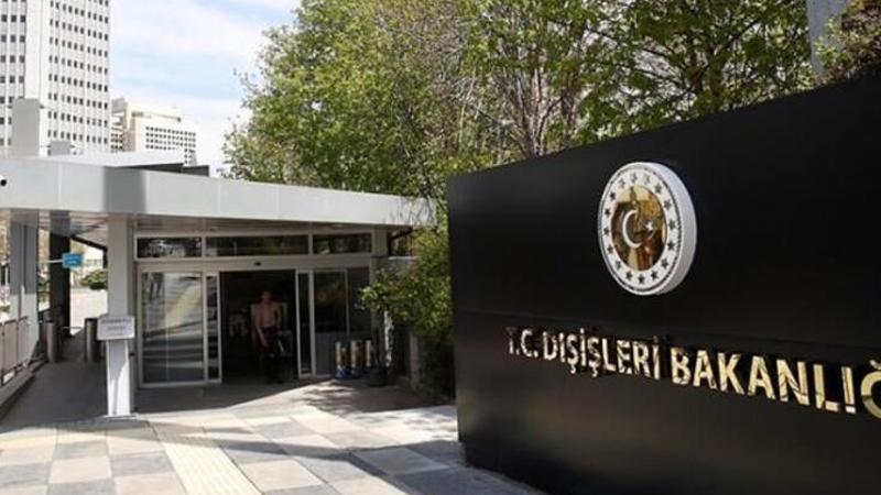 Dışişleri Bakanlığı'ndan Fransa'ya Libya tepkisi