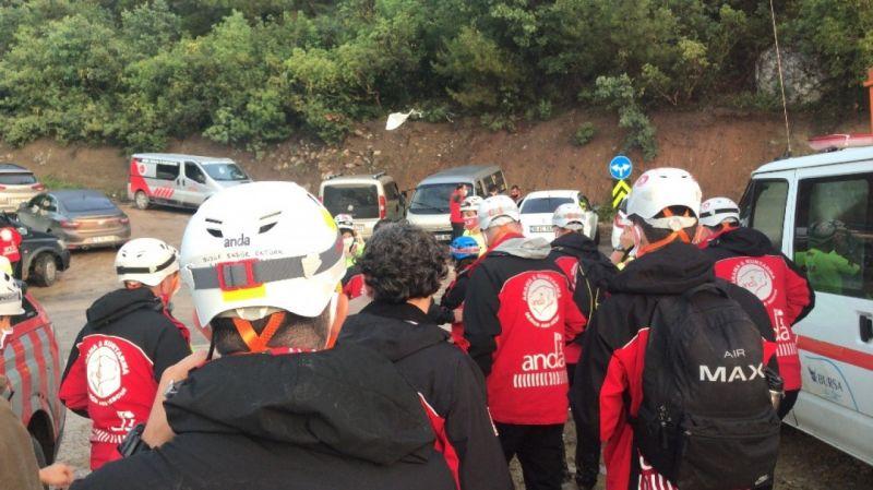Bursa'da selde kaybolan kişinin cenazesine ulaşıldı!