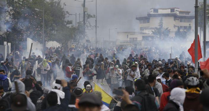 Ekvador'da şiddet olayları gittikçe artıyor