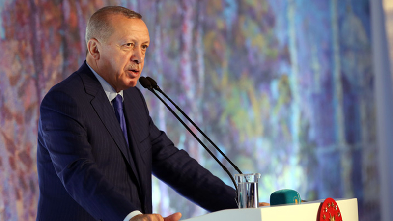 Erdoğan: Müslümanlar sadece kendi aralarında zekat verse fakir kalmaz