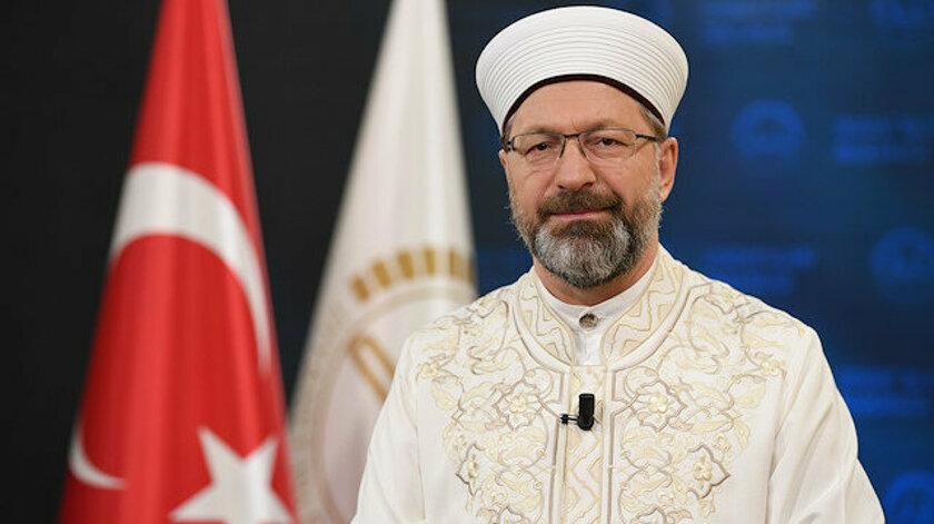 Diyanet İşleri Başkanı Erbaş: Dünya İslam'a muhtaç