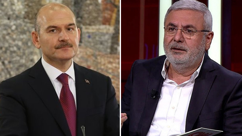 AKP'li Mehmet Metiner ve İçişleri Bakanı Süleyman Soylu canlı yayında tartıştı