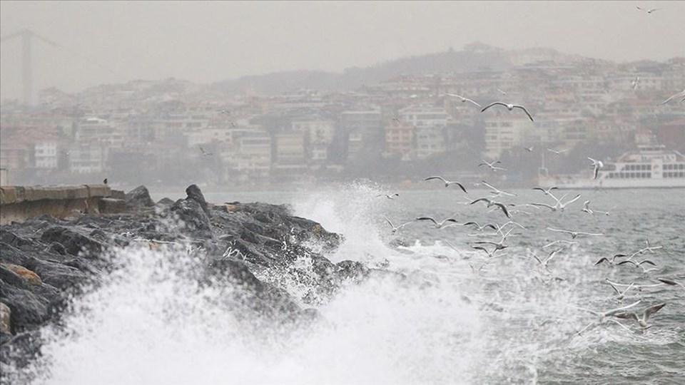 Kuvvetli yağış rüzgâr ve fırtına uyarısı