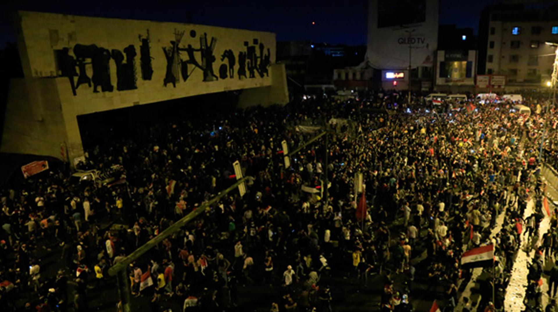 Irak'taki gösterilerde ölü sayısı yükseldi