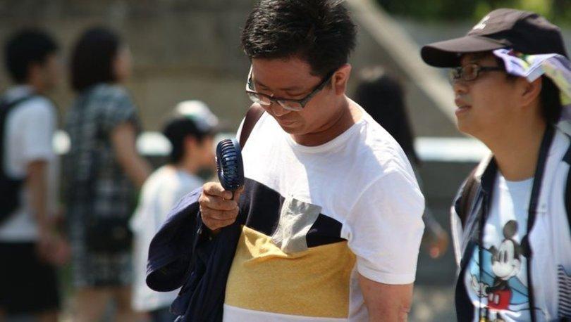 Japonya'da Aşırı Sıcaklar Nedeniyle Binlerce Kişi Hastanelik Oldu