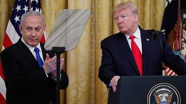 Trump rezil anlaşmayı açıkladı: Kudüs İsrail'in başkenti, Filistinlilere de devlet kuracağız