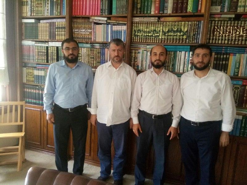 Furkan Gönüllüleri Muhammed Emin Yıldırım Hocayı Ziyaret Etti