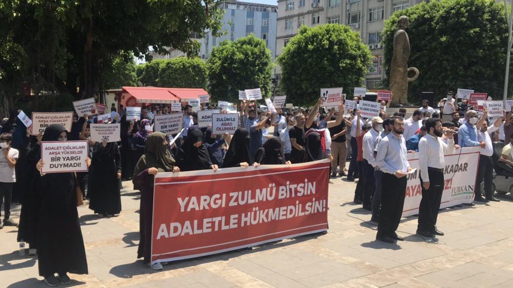 Çifte Beraat Sonrası Furkan Gönüllülerinden Basın Açıklaması: Haklıyız Susmayacağız