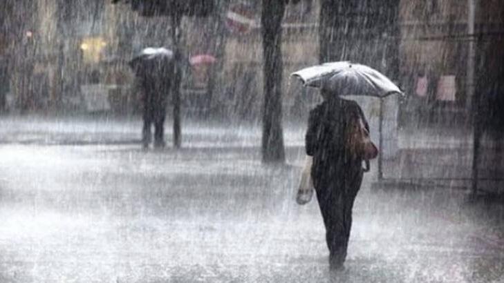 Meteoroloji'den 10 il için şiddetli yağış uyarısı