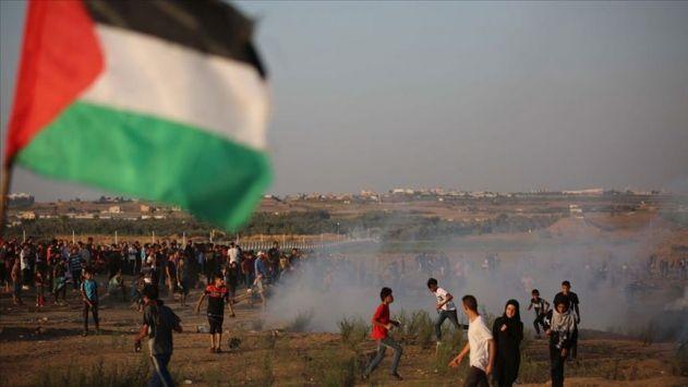 Siyonist İsrail saldırılarına devam ediyor! 1 şehit 54 yaralı