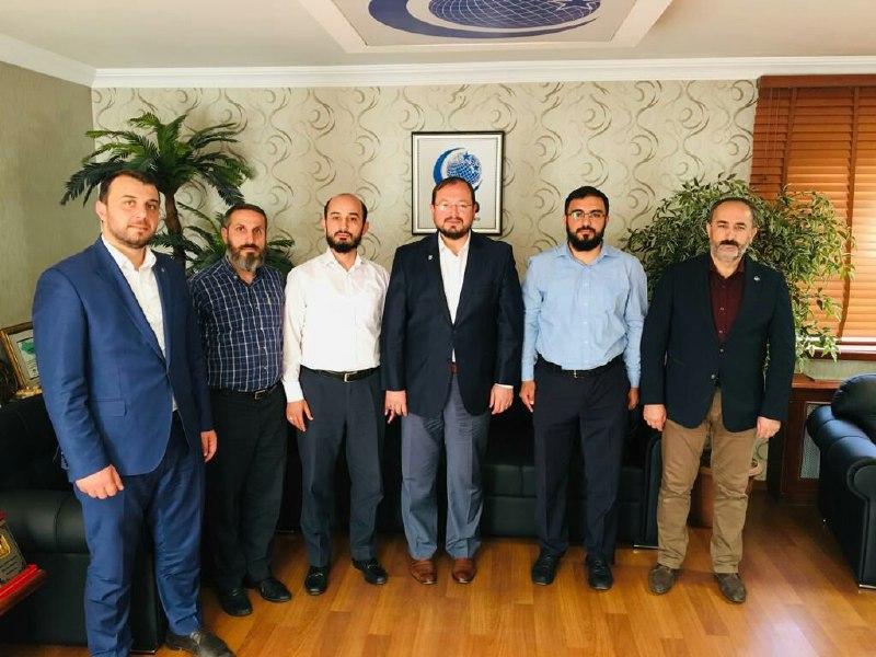 Furkan Gönüllüleri Anadolu Gençlik Derneğini Ziyaret Etti