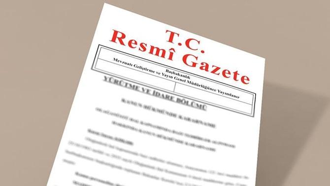 Resmi Gazete'de atama kararları yayımlandı