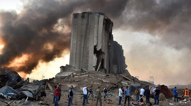 Beyrut Limanı'ndaki patlamada ölü sayısı artıyor