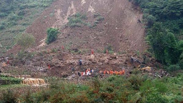 Çin'de toprak kayması: 6 ölü