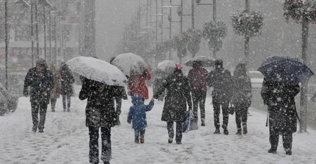 Meteoroloji: Kar yağışı geliyor