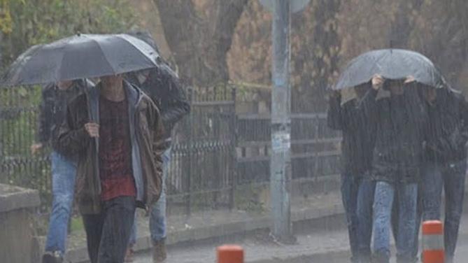 Meteoroloji'den iki bölgeye kuvvetli yağış uyarısı!
