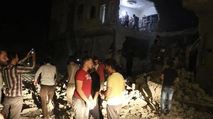 Esad rejimi Bab'a saldırdı! 2 kişi öldü