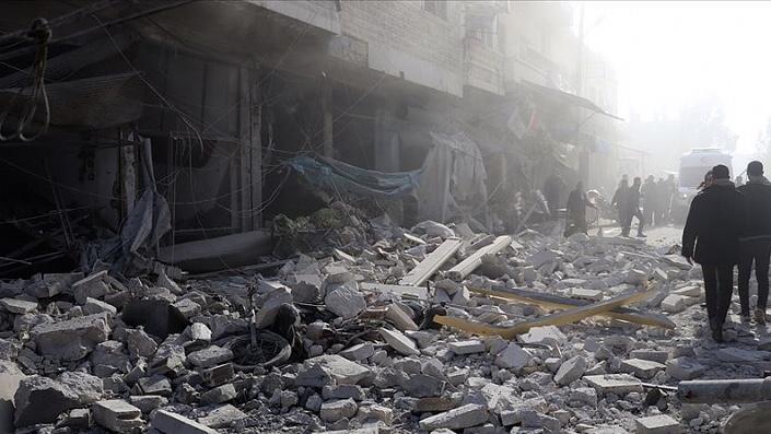 Suriye'deki iç savaşta geçen ay 125 sivil hayatını kaybetti