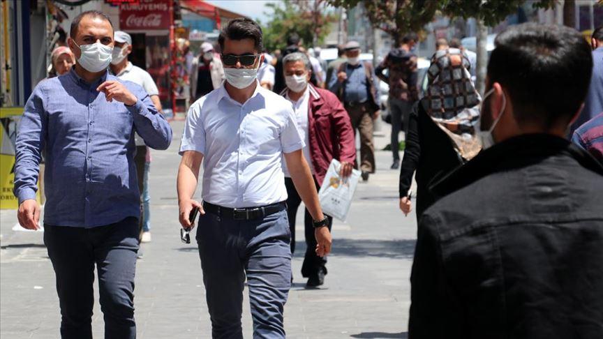 Ağrı'da maske takma zorunluluğu getirildi