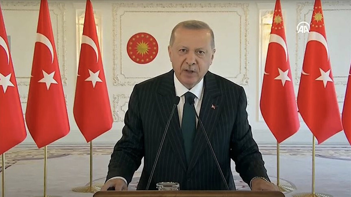 Erdoğan: Kısa çalışma ve işsizlik ödeneğini 1 ay daha uzatıyoruz