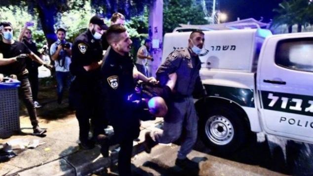 İşgalci İsrail polisi Kudüs'te 21 Filistinliyi gözaltına aldı