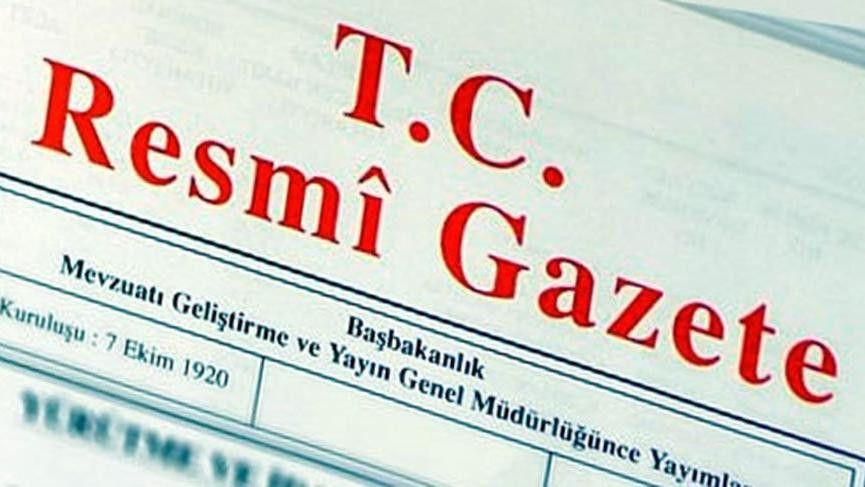 Erdoğan'dan birçok kuruma yeni atama
