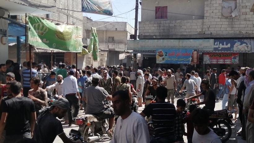 Cerablus'ta bombalı saldırı: Ölü ve yaralılar var
