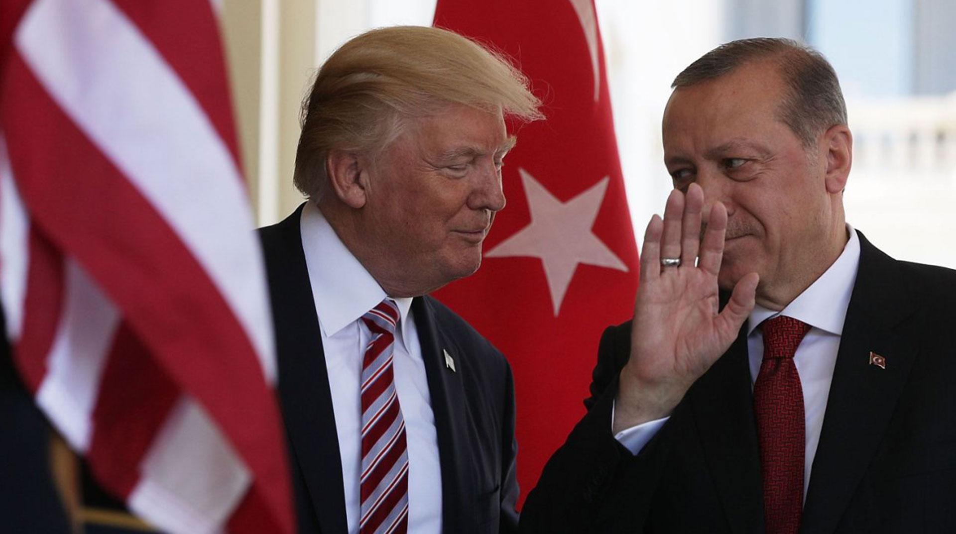 """Trump: """"Erdoğan İle Çok İyi İlişkilerimiz Var"""""""