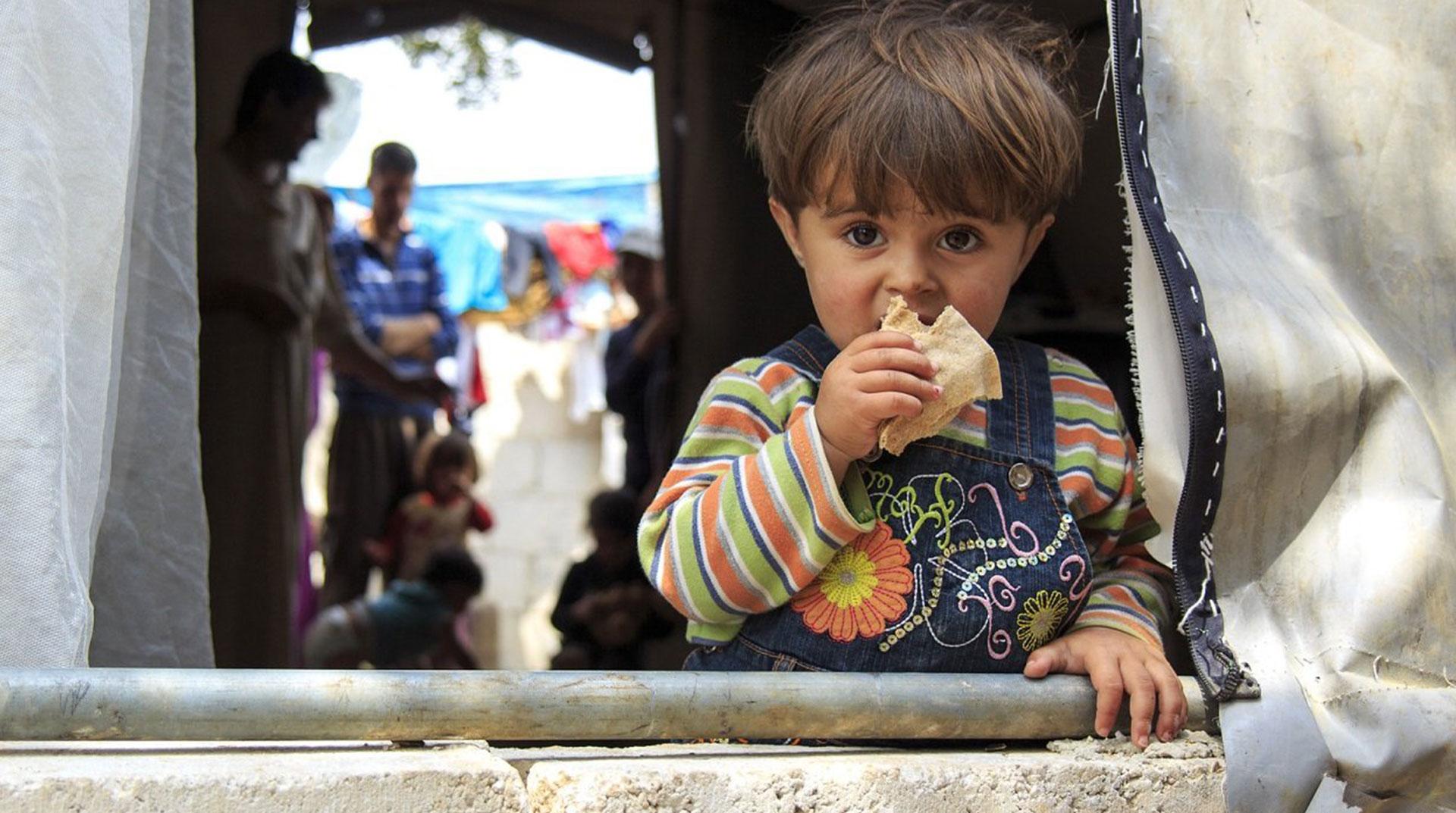 İdlib'de Savaşın Mağduru Yine Çocuklar Oldu