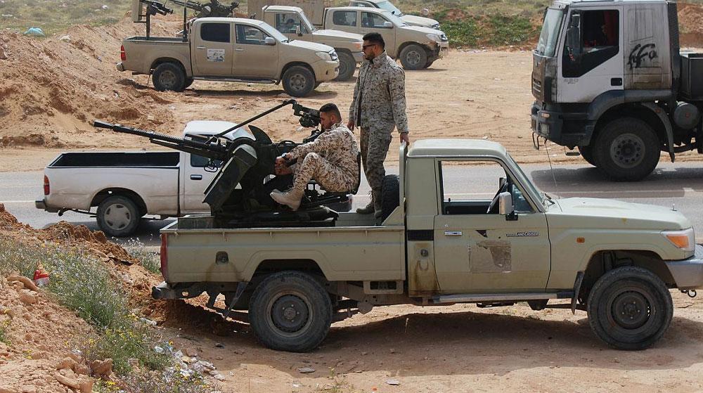 Libya Ordusu Vatiyye Hava Üssü'ne 24 Operasyon Düzenledi