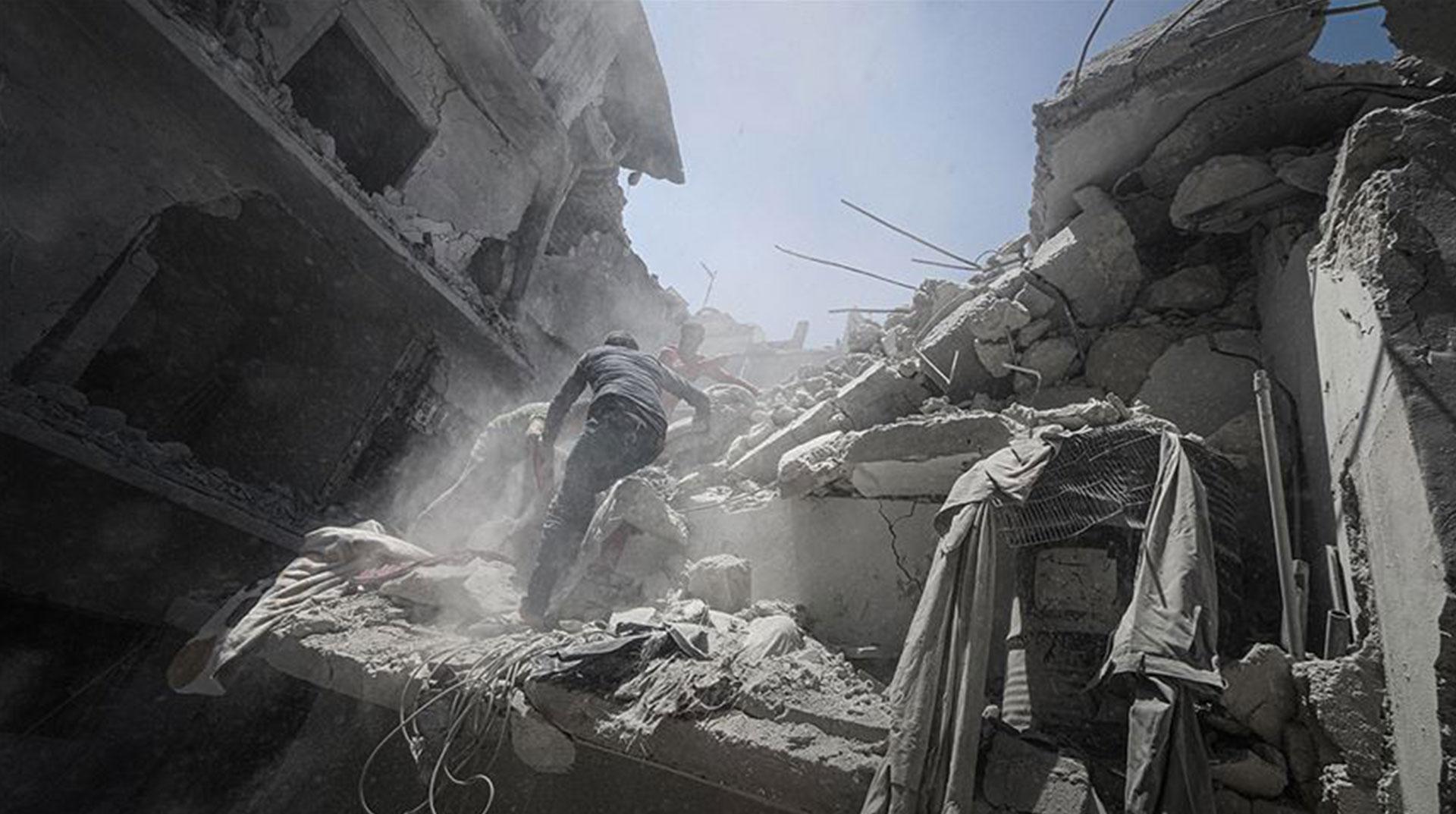 Rejimin İdlib'e Saldırısında İki Sivil Hayatını Kaybetti