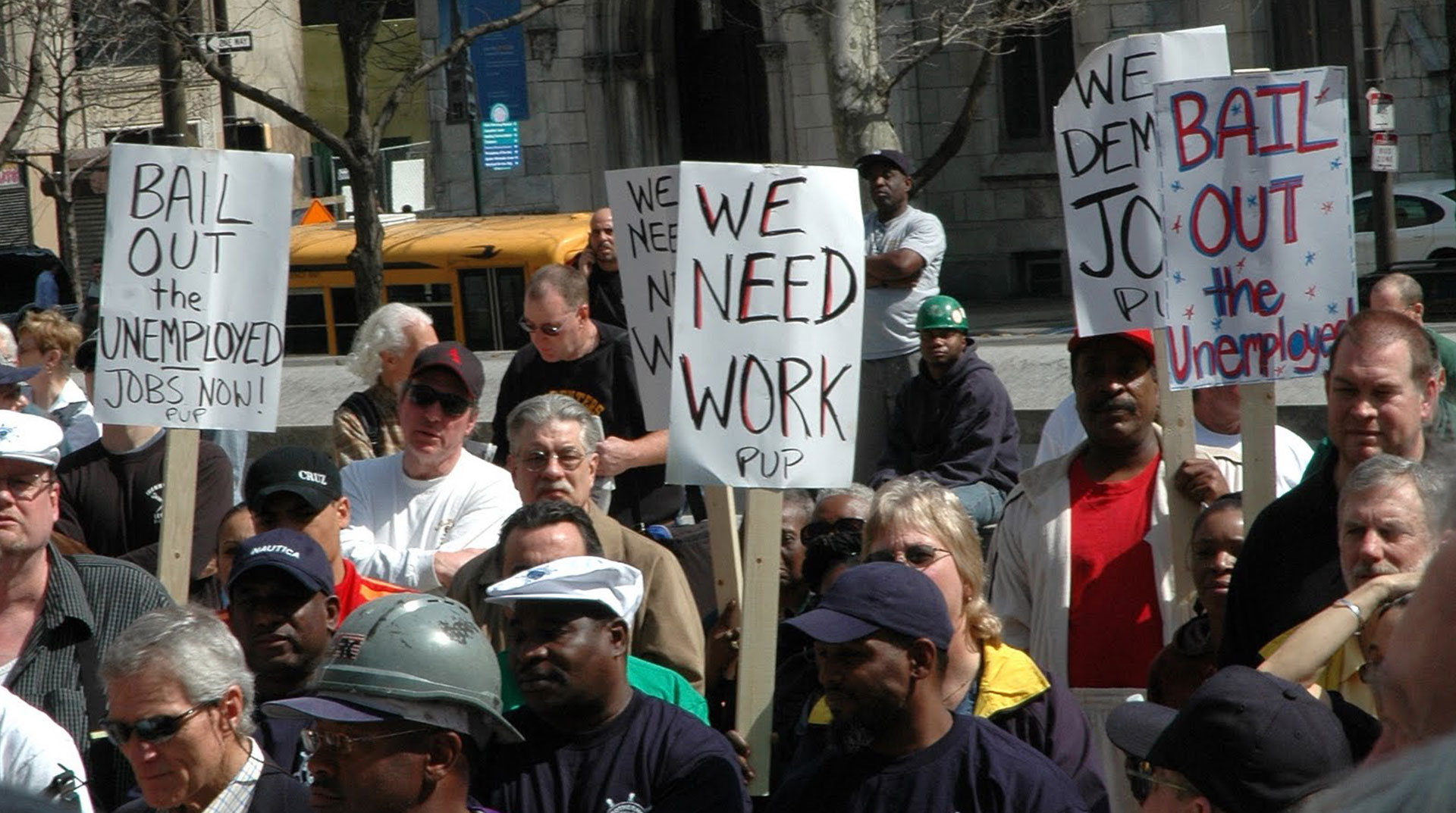 ABD'de İşsizlik Rakamları Hat Safhaya Yükseliyor