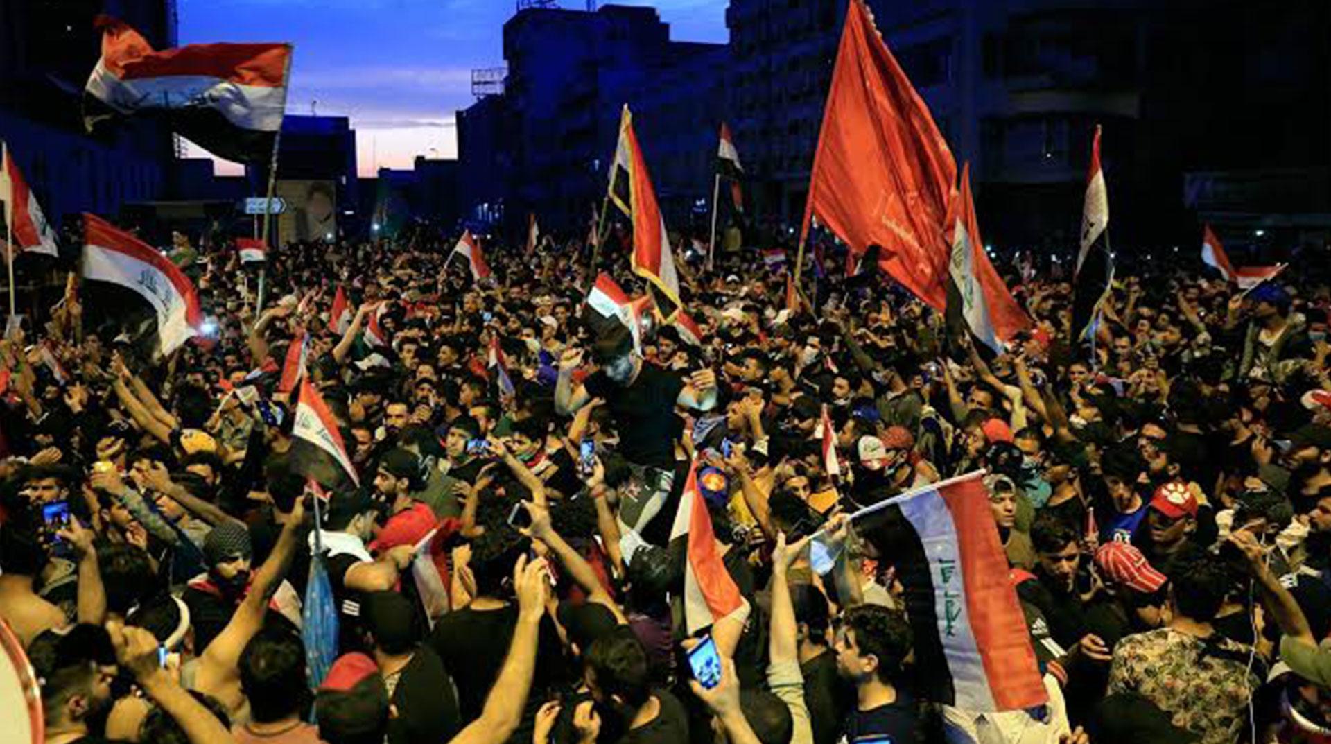 Irak'ta Protesto Bilançosu Ağırlaşıyor: Son 3 Günde 74 Kişi Öldü