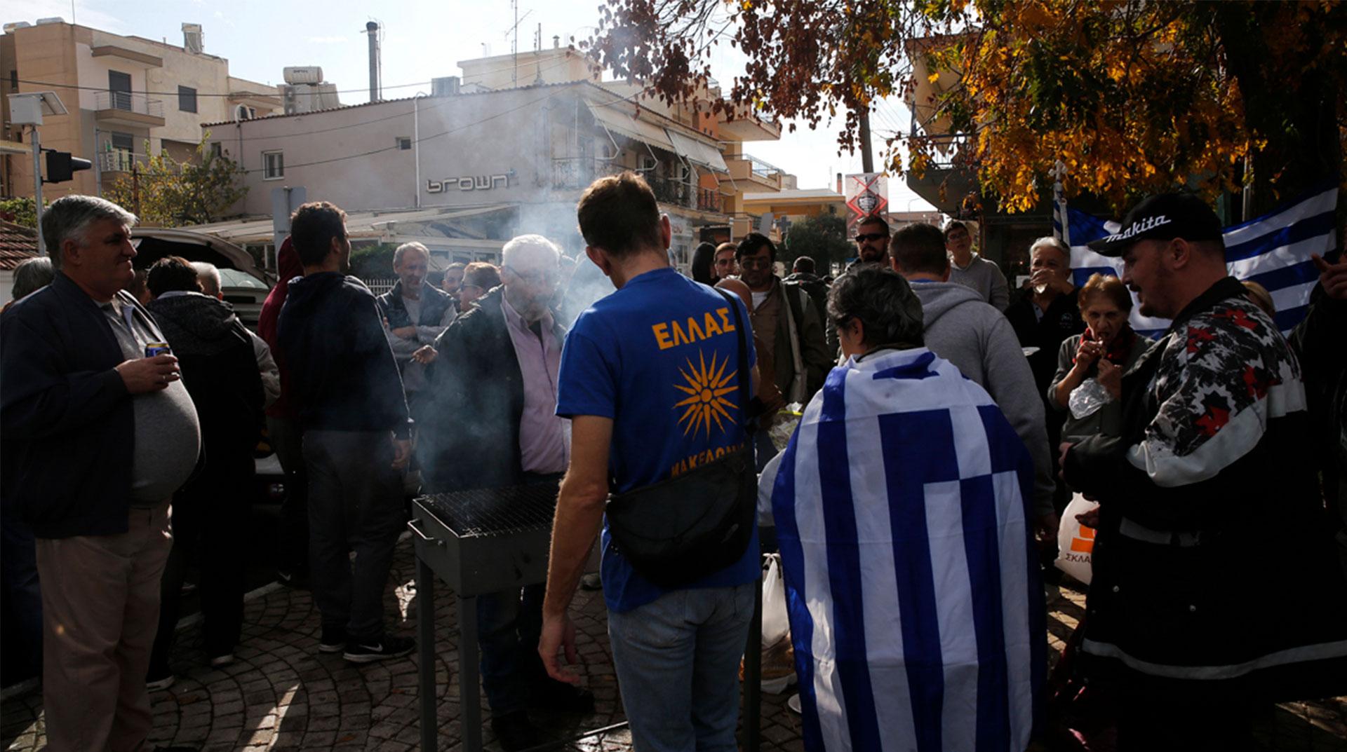 Yunanistan'da Müslümanlara Karşı Provokatif Eylem