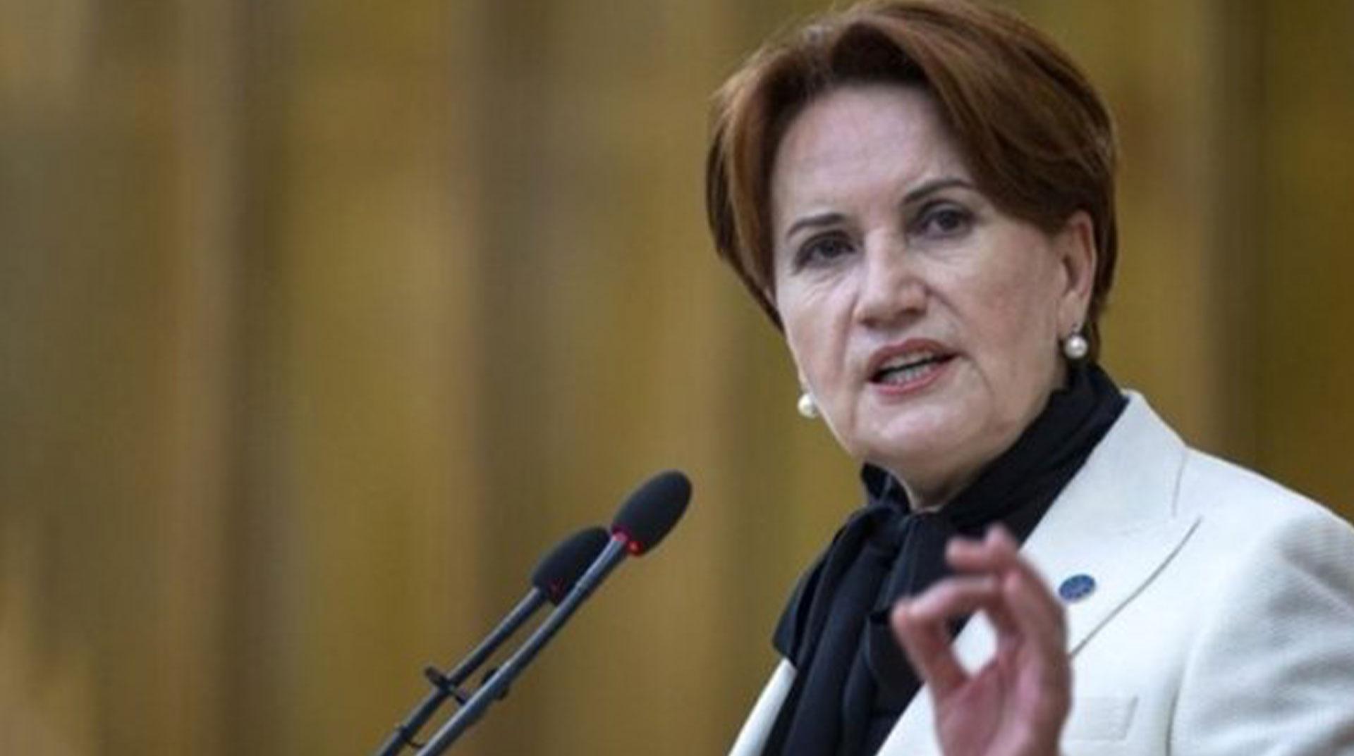 Akşener: Yeni partiler bizden milletvekili isterse...
