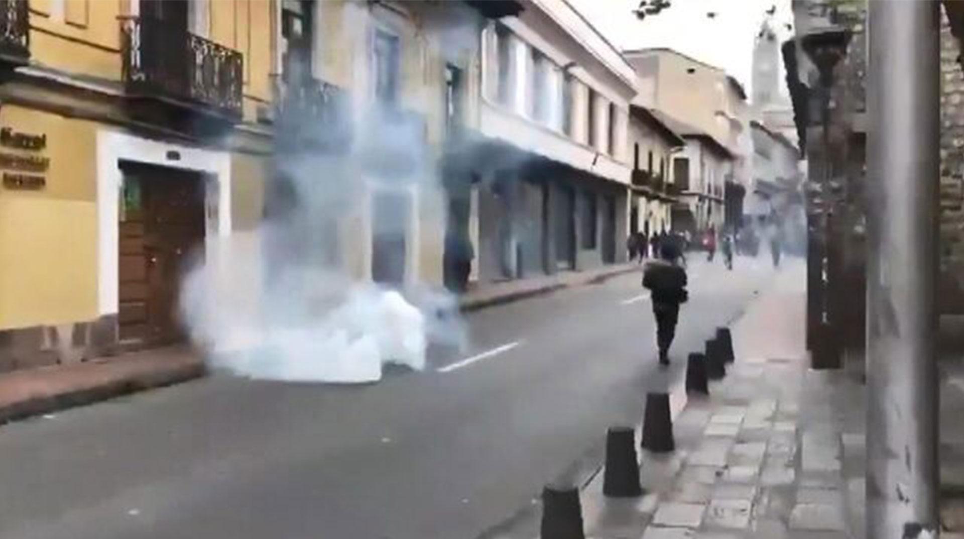 Ekvador'da Sokağa Çıkma Yasağı
