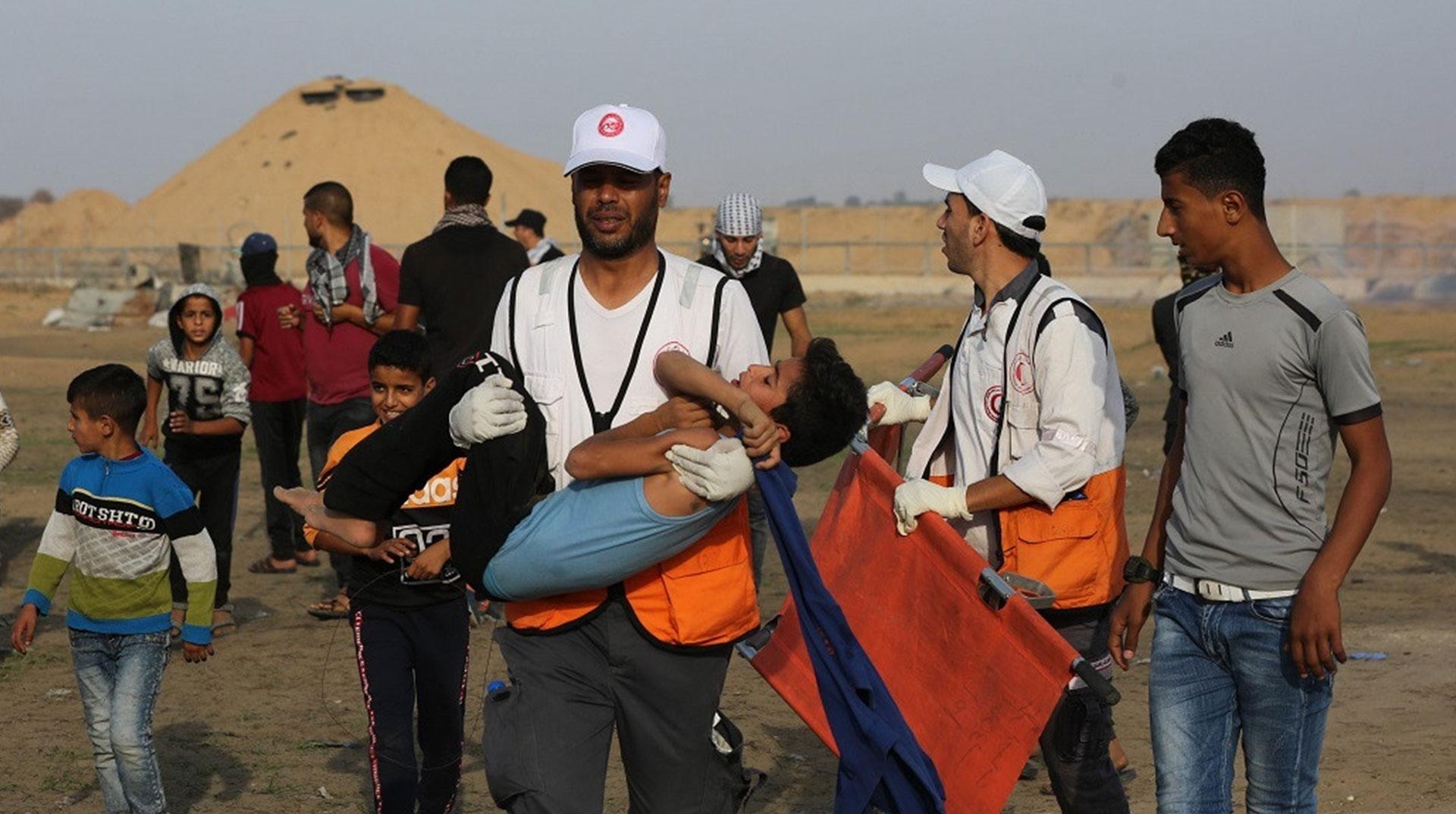 İşgal Yönetimi Ateş Saçtı! Büyük Dönüş'ün Cuma Gösterilerinde 69 Filistinli Yaralandı