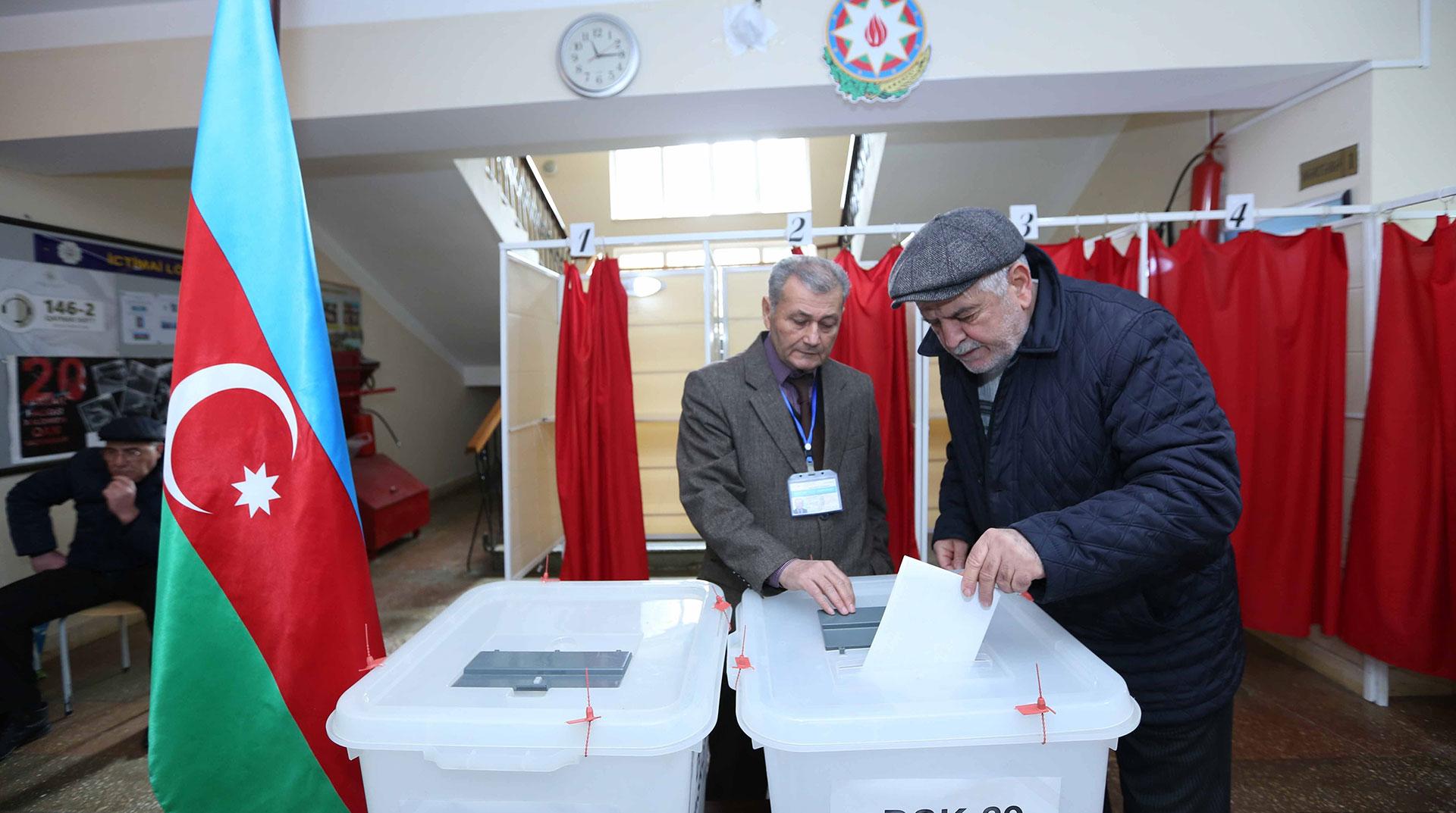 Azerbaycan'da Seçimler Sonuçlandı