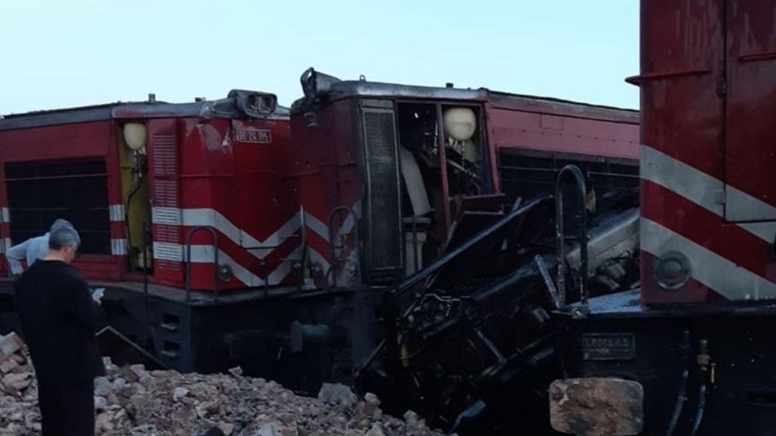Malatya'da Tren Kazası!