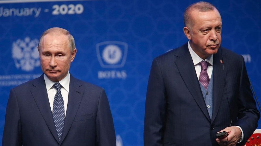 Erdoğan ile Putin'den Müzakere Talimatı