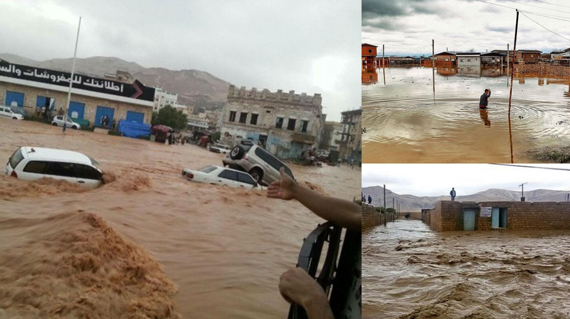 İran'da Sel Felaketi! 26 Can Kaybı