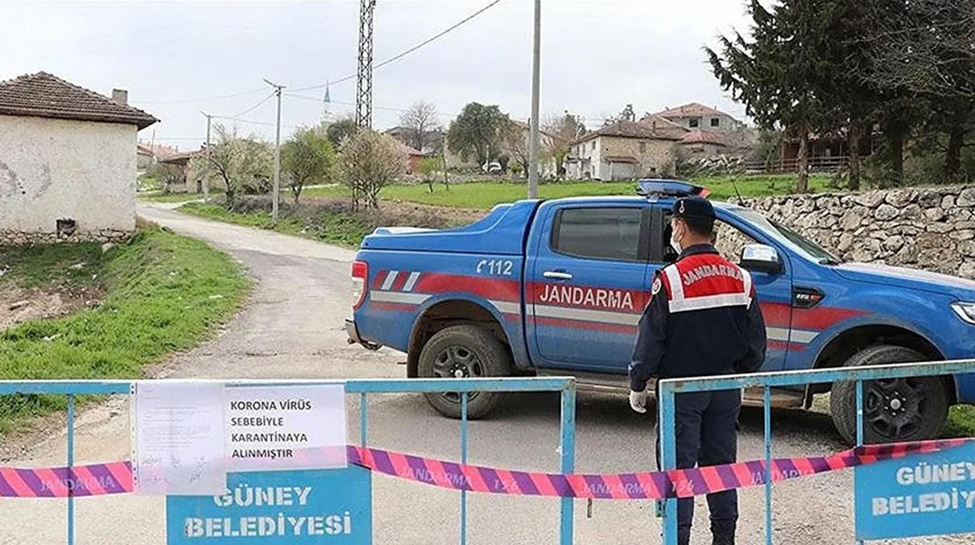 Siirt'te 2 köy ve 3 mezra daha karantinaya alındı