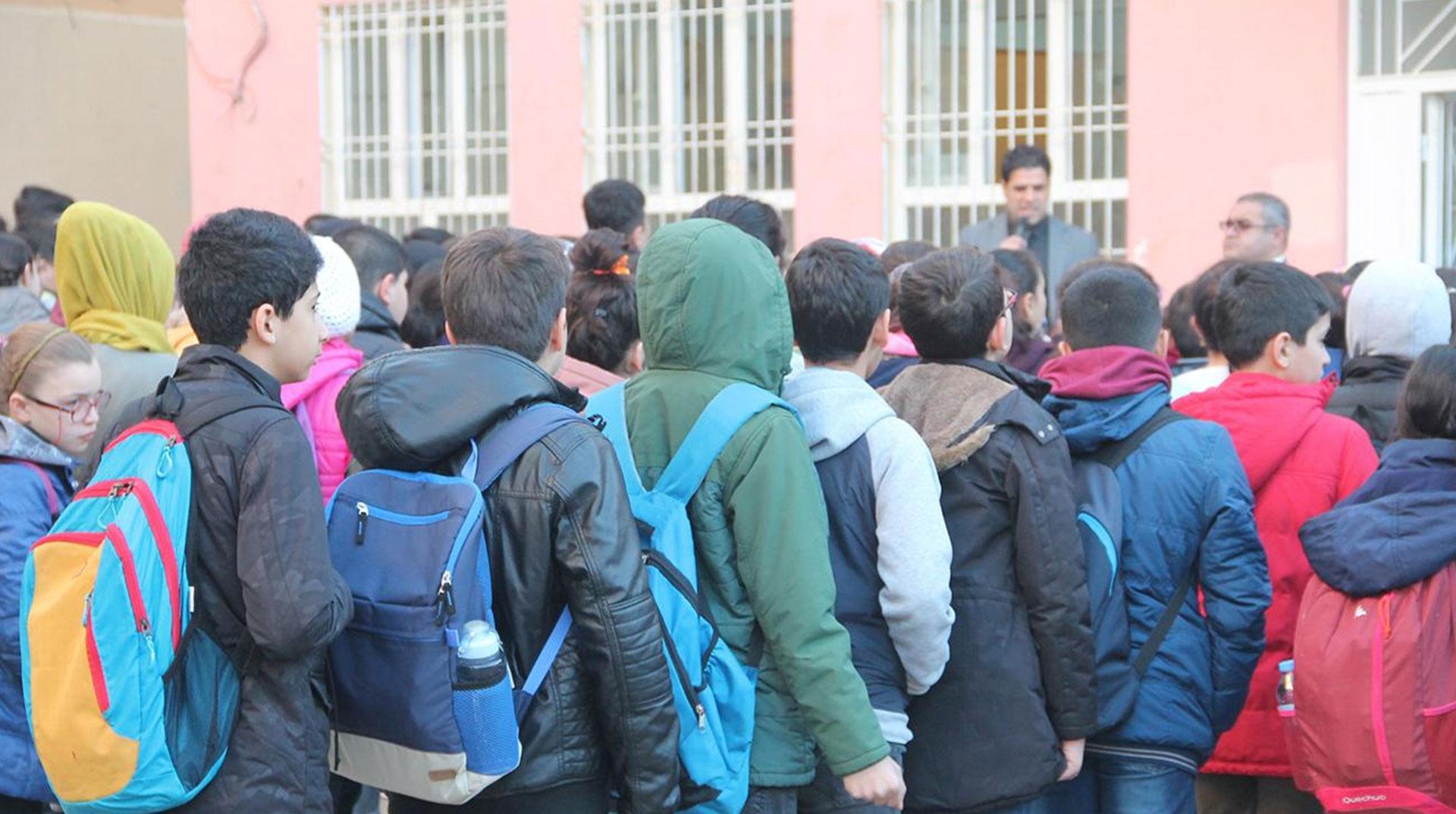 Mardin'deki 156 Okulda Eğitime 2 Gün Ara