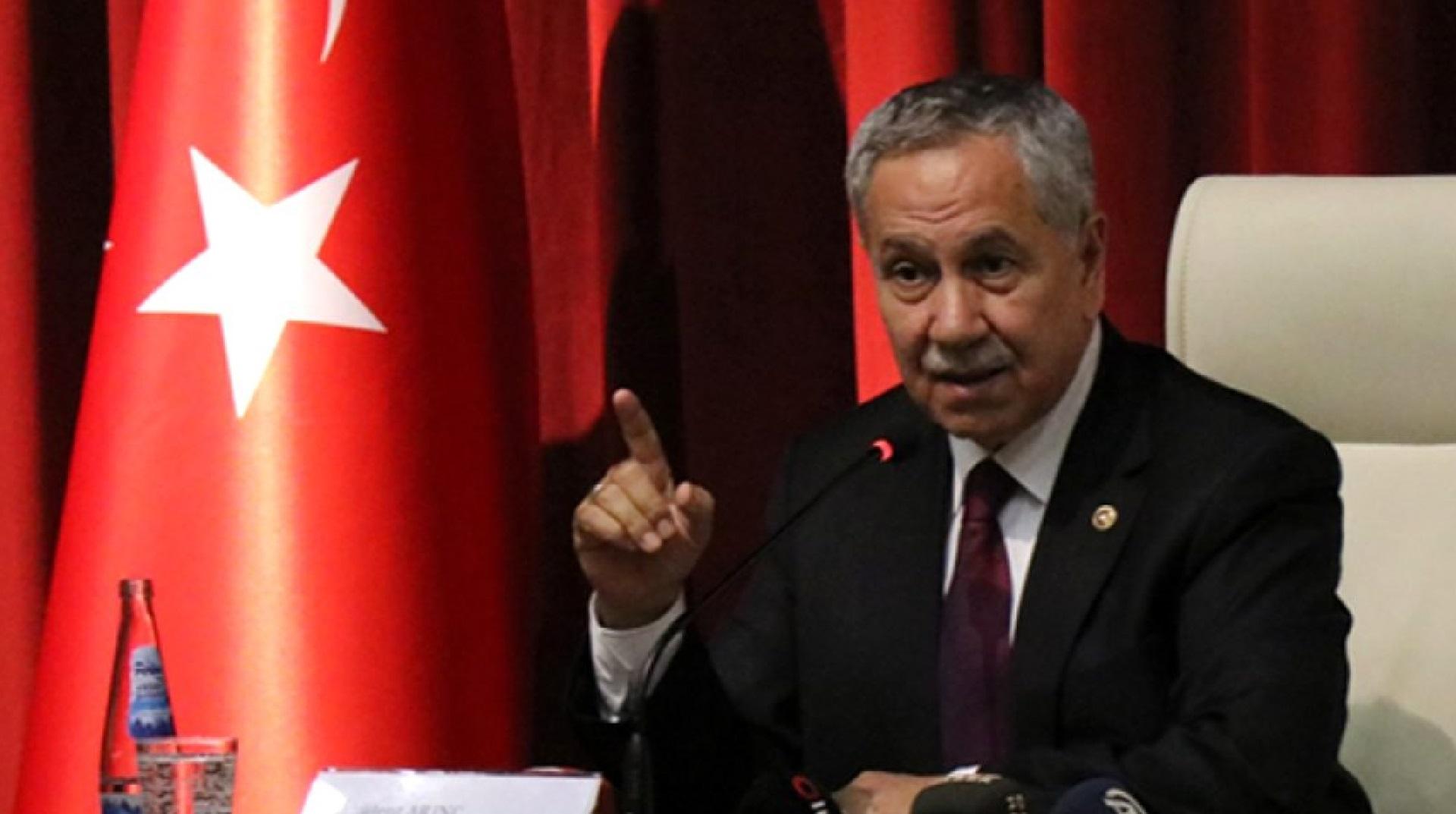 AK Parti'den Arınç'a Tepki