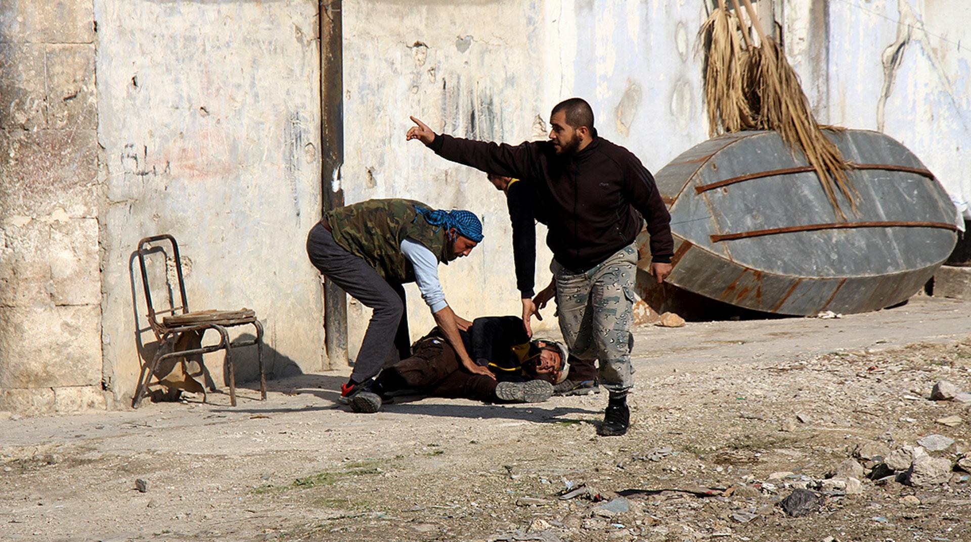 Esed İdlib'e Saldırdı: 3 Ölü