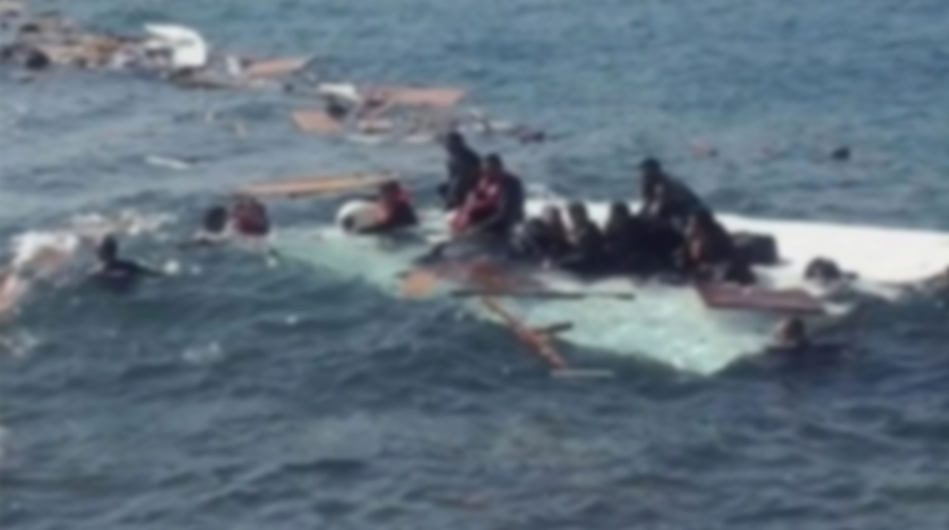 Yunanistan Açıklarında Göçmen Teknesi Battı