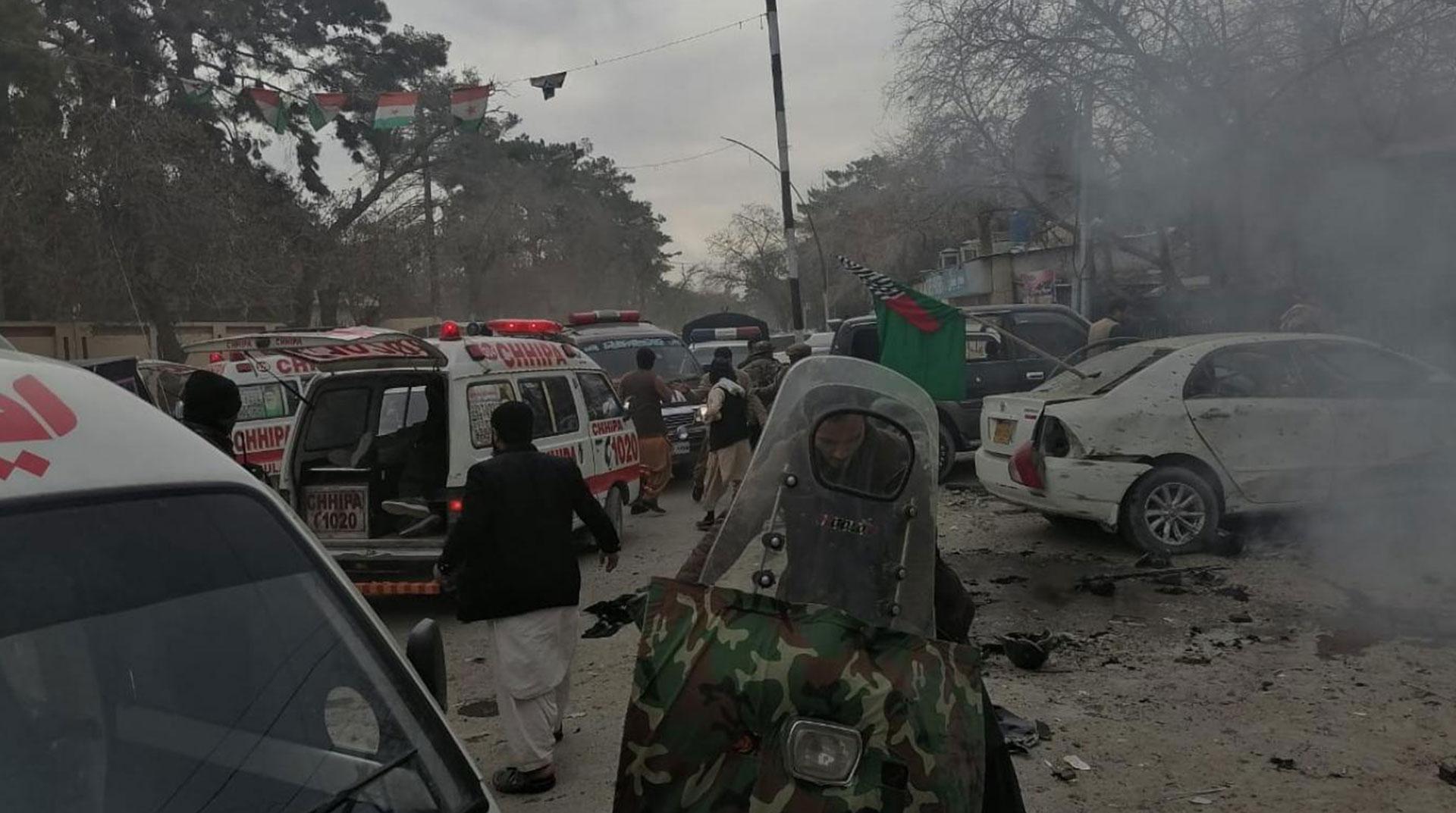 Pakistan'da Protesto Sırasında Patlama: Ölü ve Yaralılar Var