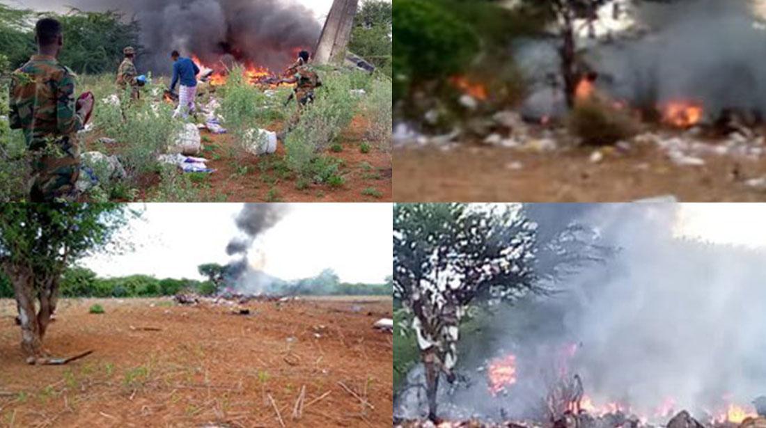 Somali'de Uçak Kazası! 6 Ölü